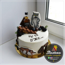 "Торт на заказ ""47 лет"""