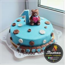 "Торт на заказ ""Алексею 1 годик"""