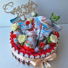 Букет из конфет - БК02