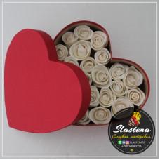 Съедобные розы арт.- СР1 в сердце